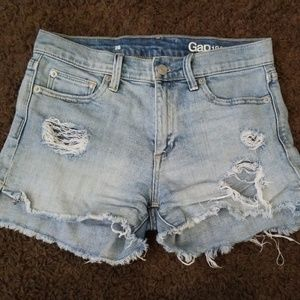 GAP Cut Off Shorts Size 26